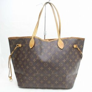 Auth Louis Vuitton Neverfull Mm Tote Bag #2859L35
